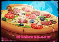 لعبة طبخ البيتزا