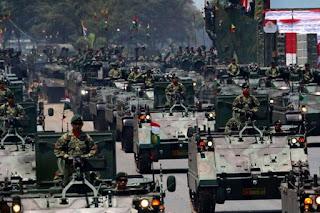 Diduga Menyusup ke Lokasi HUT TNI, Dua Tentara AS Ditangkap