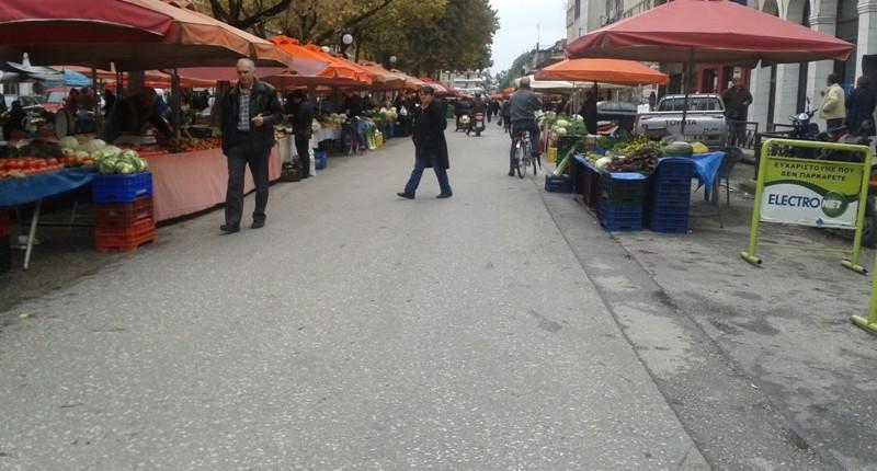 Ο Δήμος Τρικκαίων επιλύει το πρόβλημα της λαϊκής αγοράς (ΣΧΕΔΙΟ)