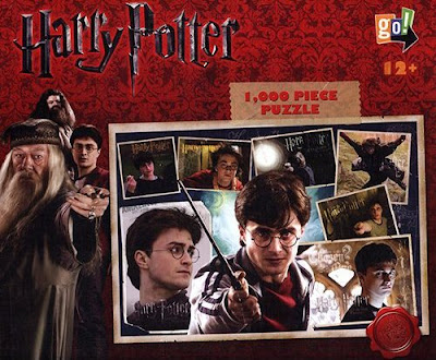 Harry Potter, Professor Dumbledore and Hagrid Jigsaw Puzzle
