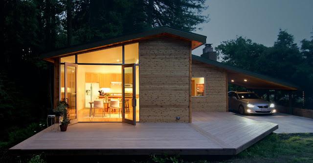 ไอเดียการออกแบบไฟในบ้านไม้ใช้เดียว