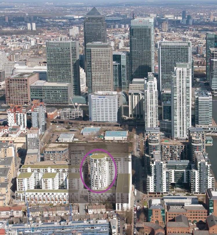 英國海外倫敦不動產投資 空照圖