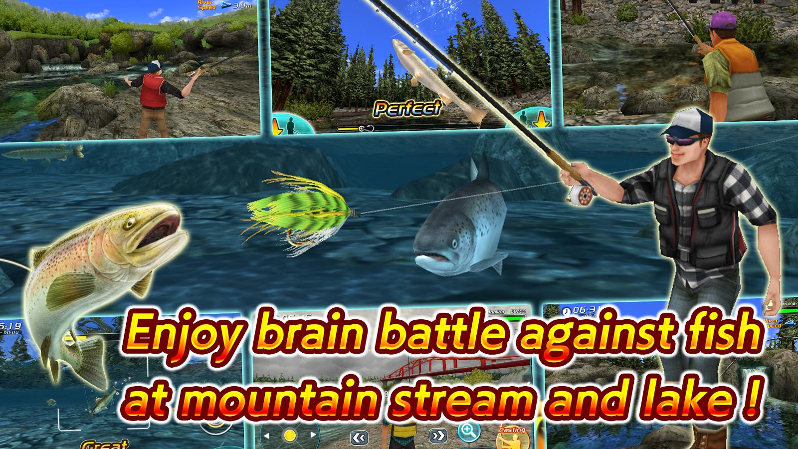 Fly Fishing 3D II MOD APK terbaru