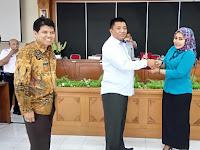 Kunjungan Kerja DPRD Kabupaten Sijunjung Sumatra Barat