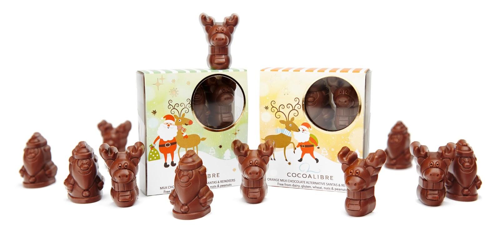 Cocoa Libre Christmas dairy free chocolate