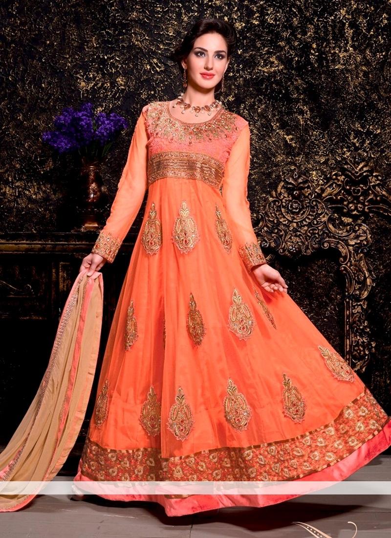 9658fd8766 Floor Length Bridal Anarkali Dresses