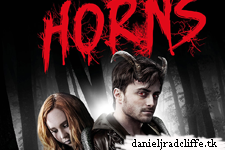 Horns international poster and more stills