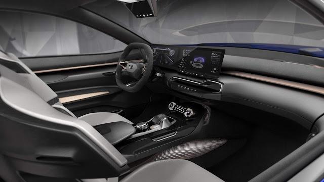 Chery Tiggo Coupe Concept - interior