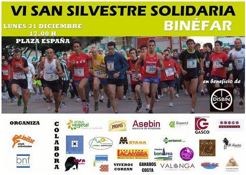 VI San Silvestre Solidaria de Binéfar 2012