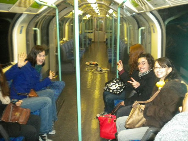 Adventures on the tube in London