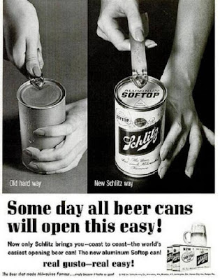 Schlitz Soft Top Can