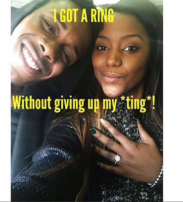She got a ring from him without having to lose her virginity, Read Brelyn Freeman's story (photos)