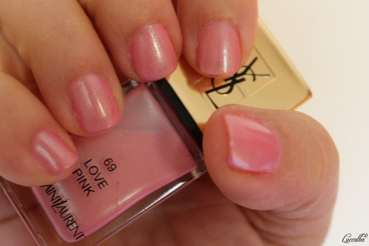 Love Pink Yves Saint Laurent swatch