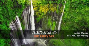 open trip tumpak sewu