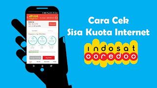 CARA CEK KUOTA DAN STATUS PAKET INTERNET INDOSAT