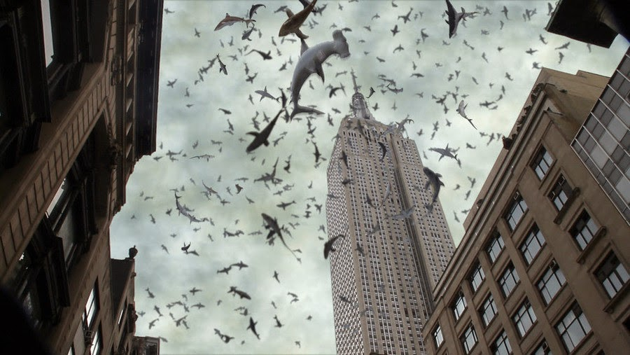 Sharknado 2 The Second One sharks in New York City