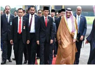 Raja Salman di indonesia