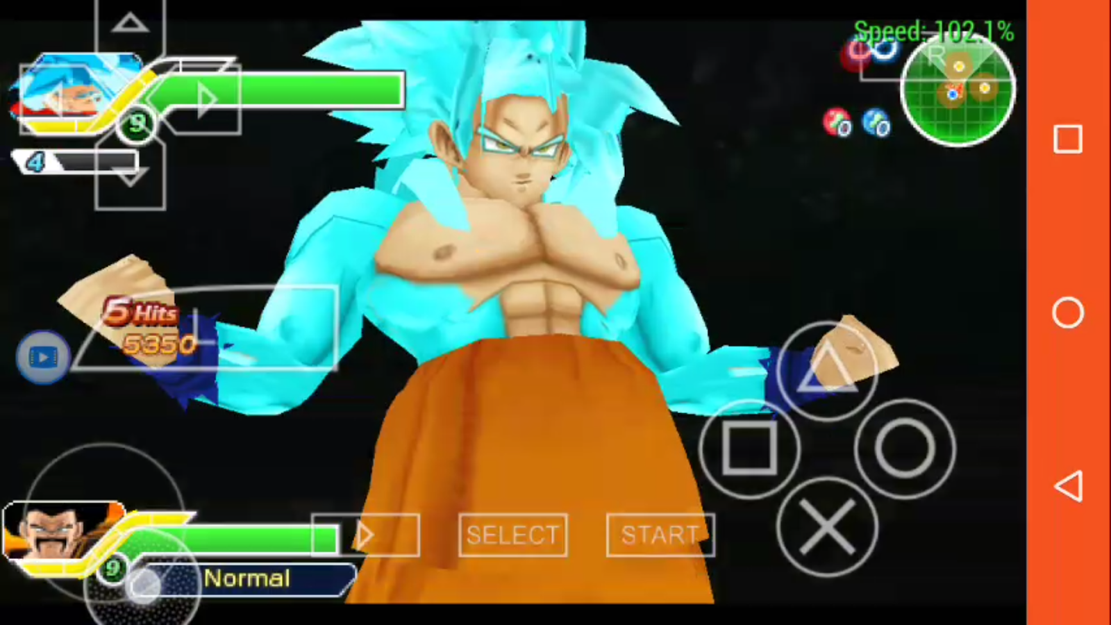 Emulator Games: DBZ TTT MOD ULTIMATE TRANSFORMATIONS BETA V10