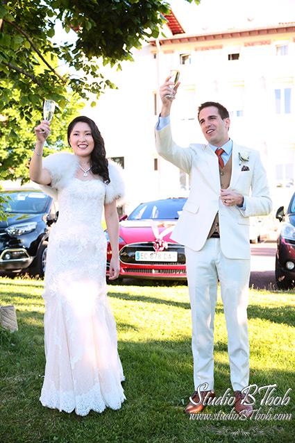 Mariage Chazelles sur Lyon