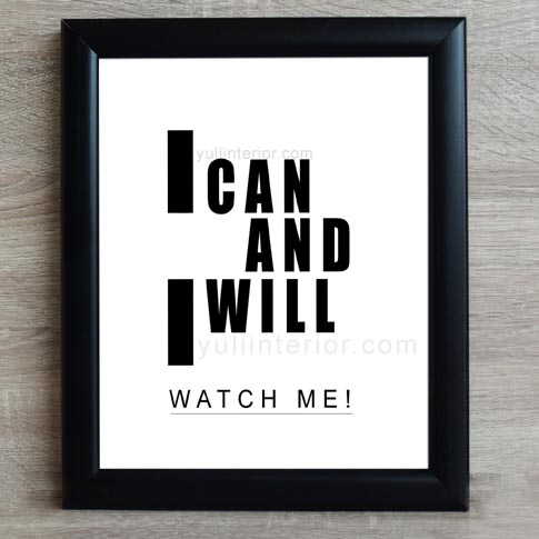 Inspirational Motivational Wall Frame, Framed Print in Port Harcourt Nigeria