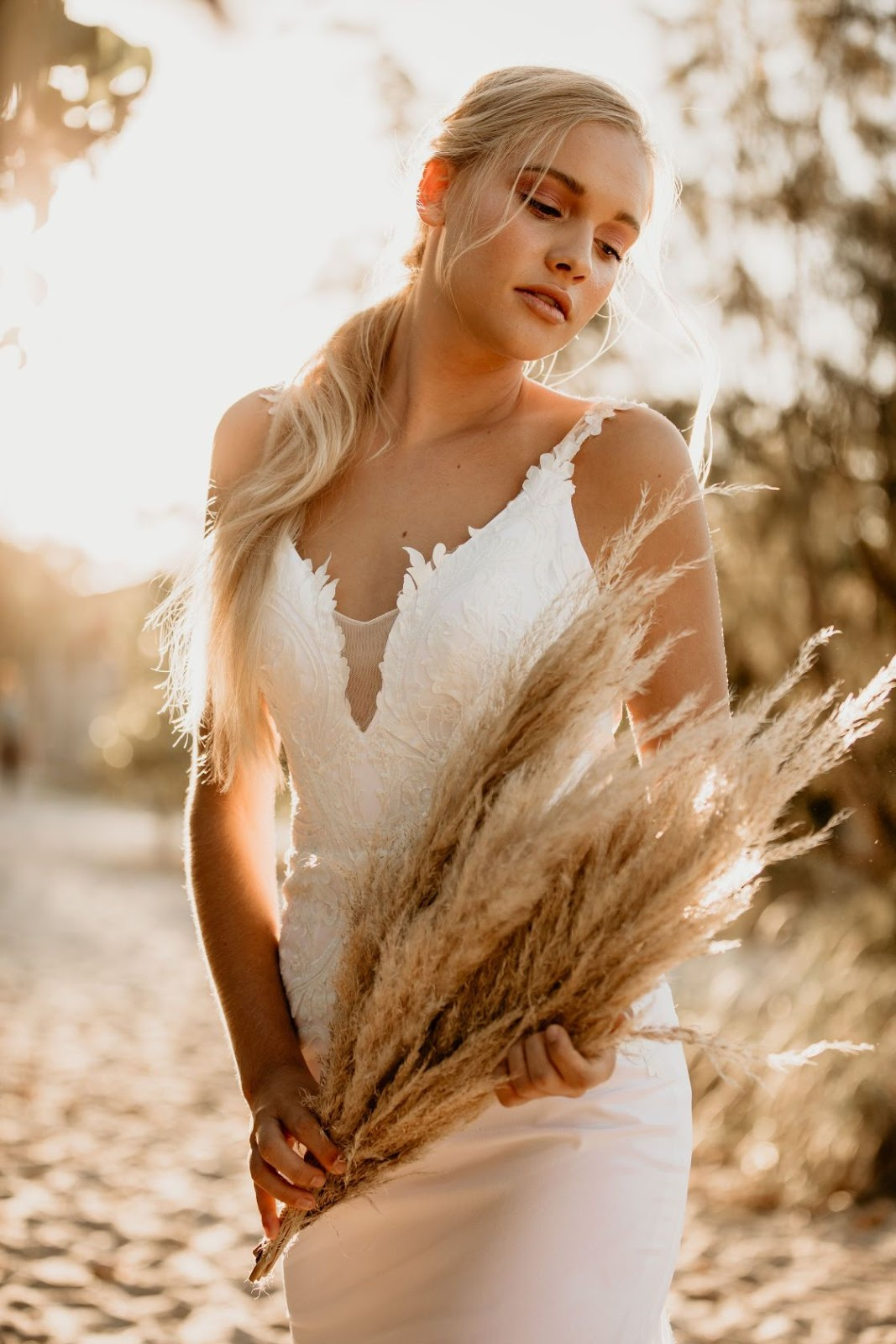 DANIELLE WEBSTER PHOTOGRAPHY BRIDAL WEAR GOLD COAST FLORALS BRIDAL GOWNS