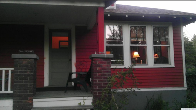 red house for sale at 6658 Chester Ave Stottville NY
