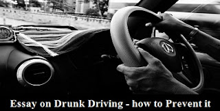 Essay on Drunk Driving - how to Prevent it