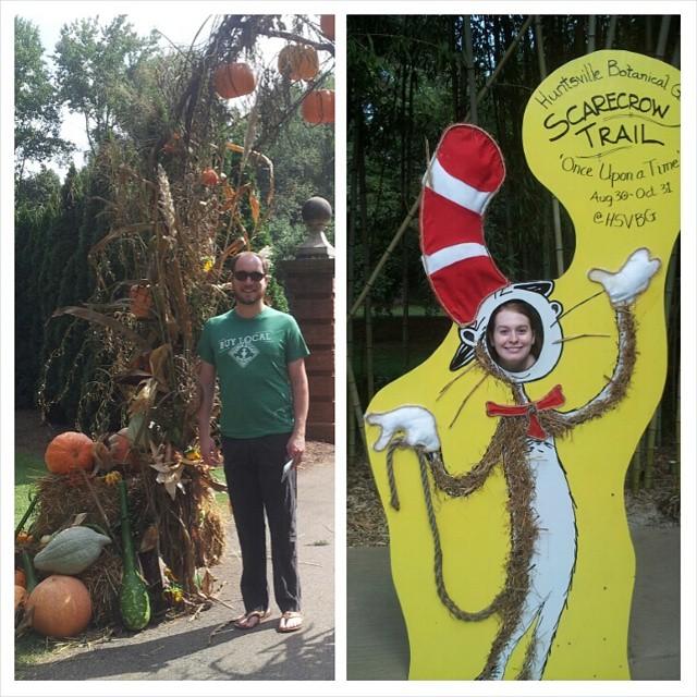 botanical gardens scarecrow trail huntsville