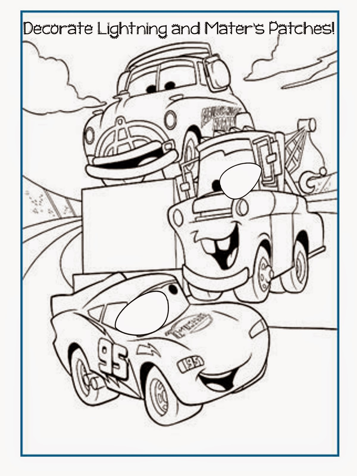 The Patty Cake Patch Printable Patch Coloring Pages