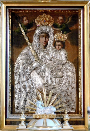 Obraz matki bożej ostrożany