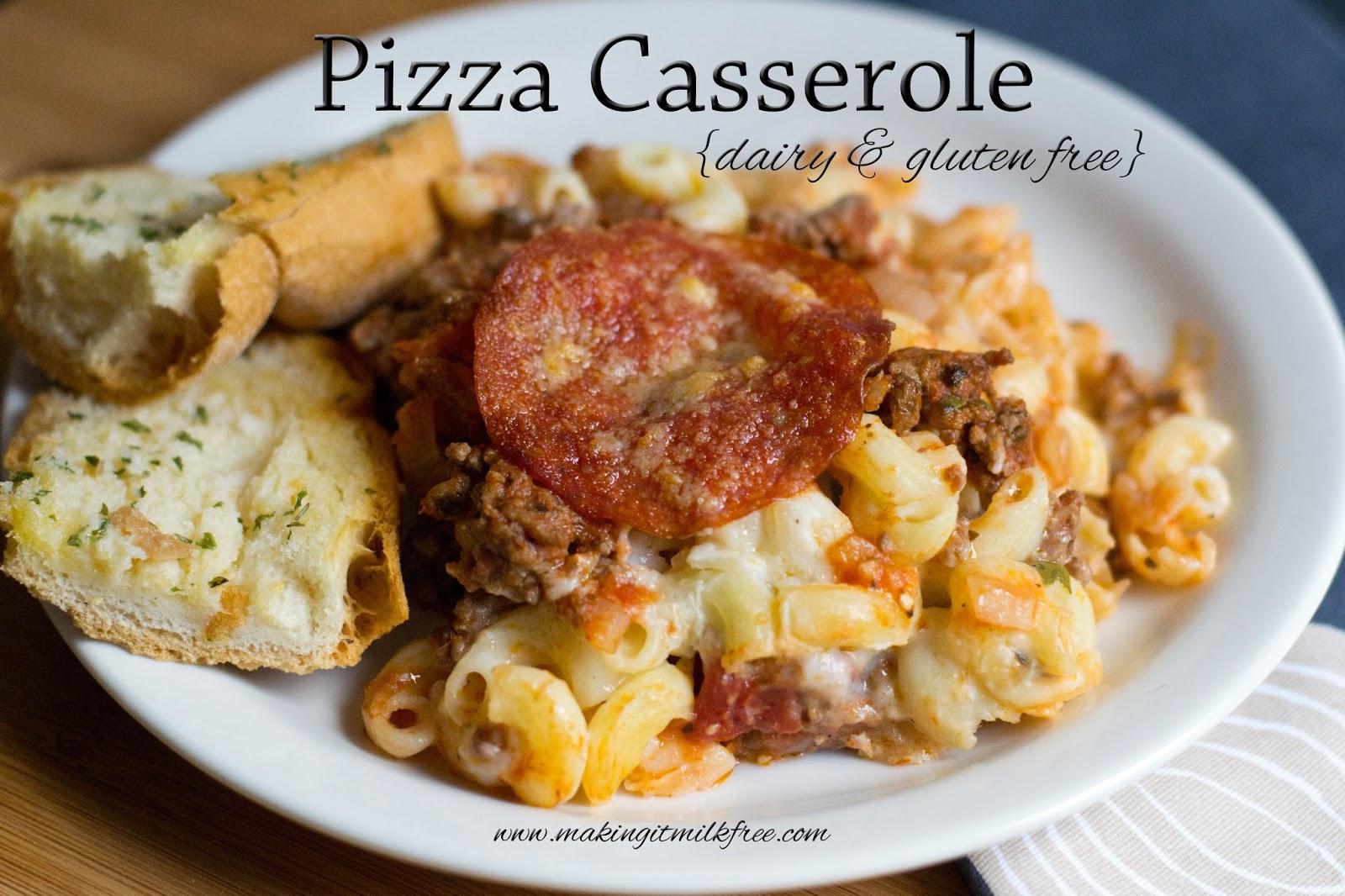 #glutenfree #dairyfree #casserole #pizza