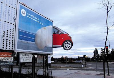 Clever and Creative Smart Car Advertisements  (15) 3