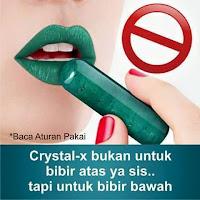 HATI2 !! Ini Cara Memakai Crystal X yang Baik & Benar