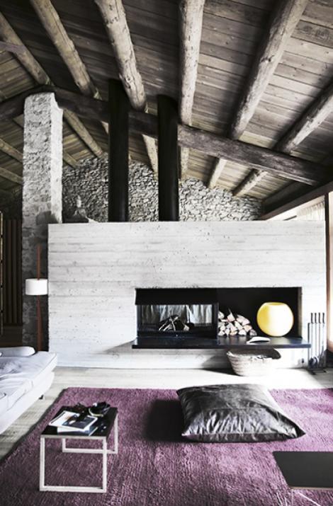 Uno chalet rustico e moderno  Blog di arredamento e interni  Dettagli Home Decor