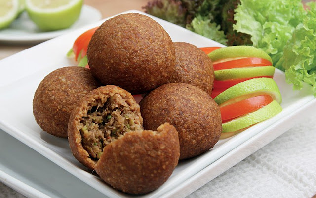 Kibbeh is a wonderful dish from the Middle East traditionally made with lamb meat but beef Middle Eastern Kibbeh Recipe
