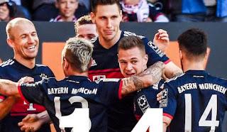 Bayern Munich Juara Liga Jerman 2017-2018 Usai Kalahkan Augsburg 4-1