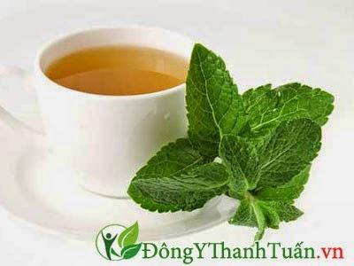 Cách giảm đau dạ dày nhanh chóng bằng trà bạc hà