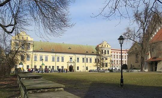 Pałac Arcybiskupi w Krakowie.