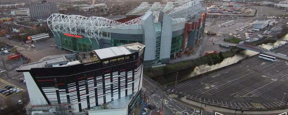 """Nuevo """"Hotel Football"""" justo al lado de Old Trafford"""