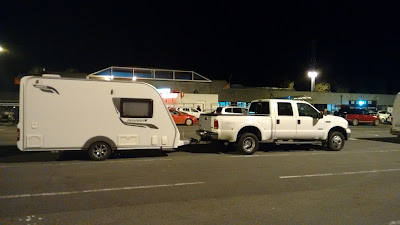 UK - Spain caravan towing service
