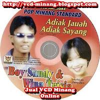 Boy Shandy & Wina Trisia - Adiak Jauh Adiak Sayang (Album)