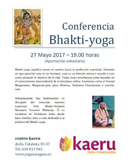 Conferencia Bhakti-yoga
