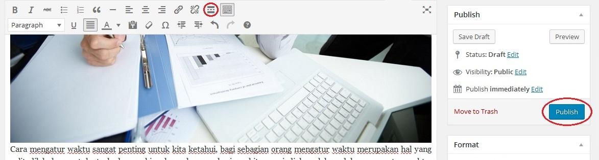 Membuat Postingan Wordpress