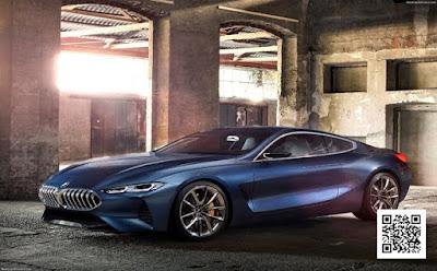 شركة BMW تكشف بشكل رسمى عن الفئه الثامنه والجديده كليا من سيارتها الجديده
