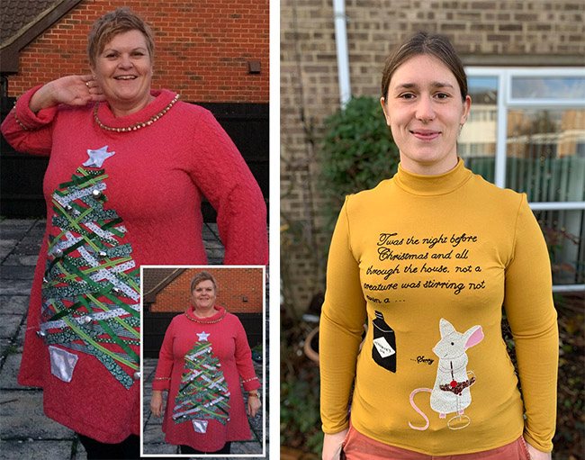 Sew a Xmas Sweater Contest - and the winner is...