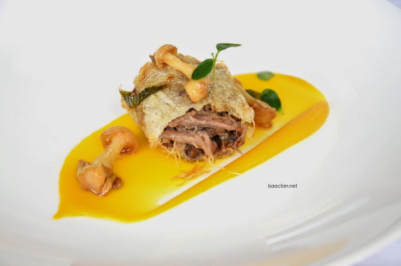 For Him (Muscovy Duck Spring Roll)