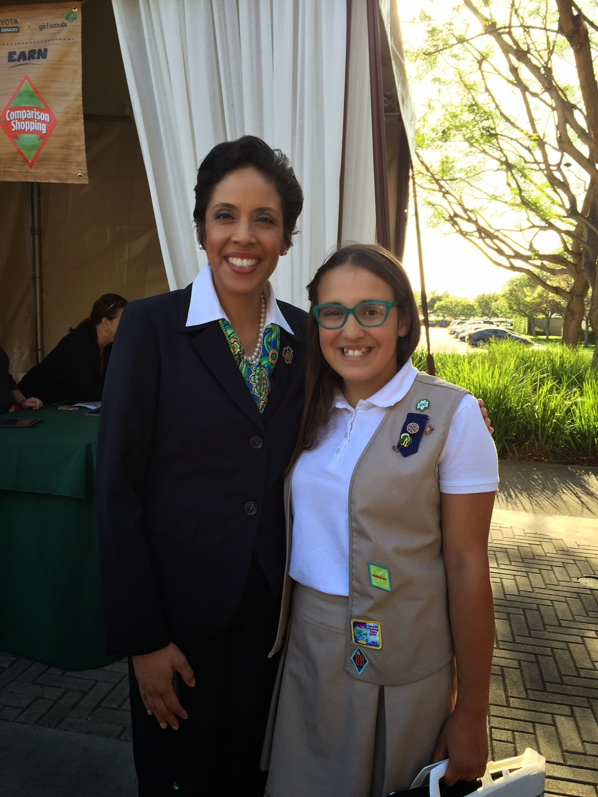Anna Marie Chavez, CEO of Girl Scouts of the USA