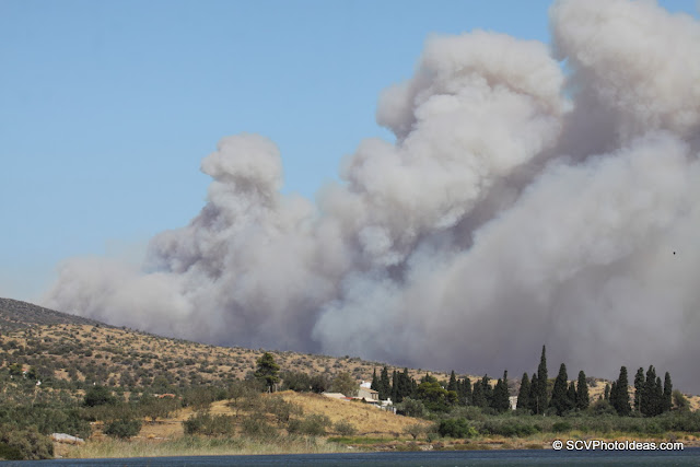 Summer Wildfire smoke at a distance II