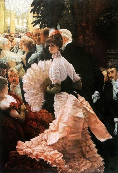 A Recepção - As principais pinturas de James Tissot ~ Francês