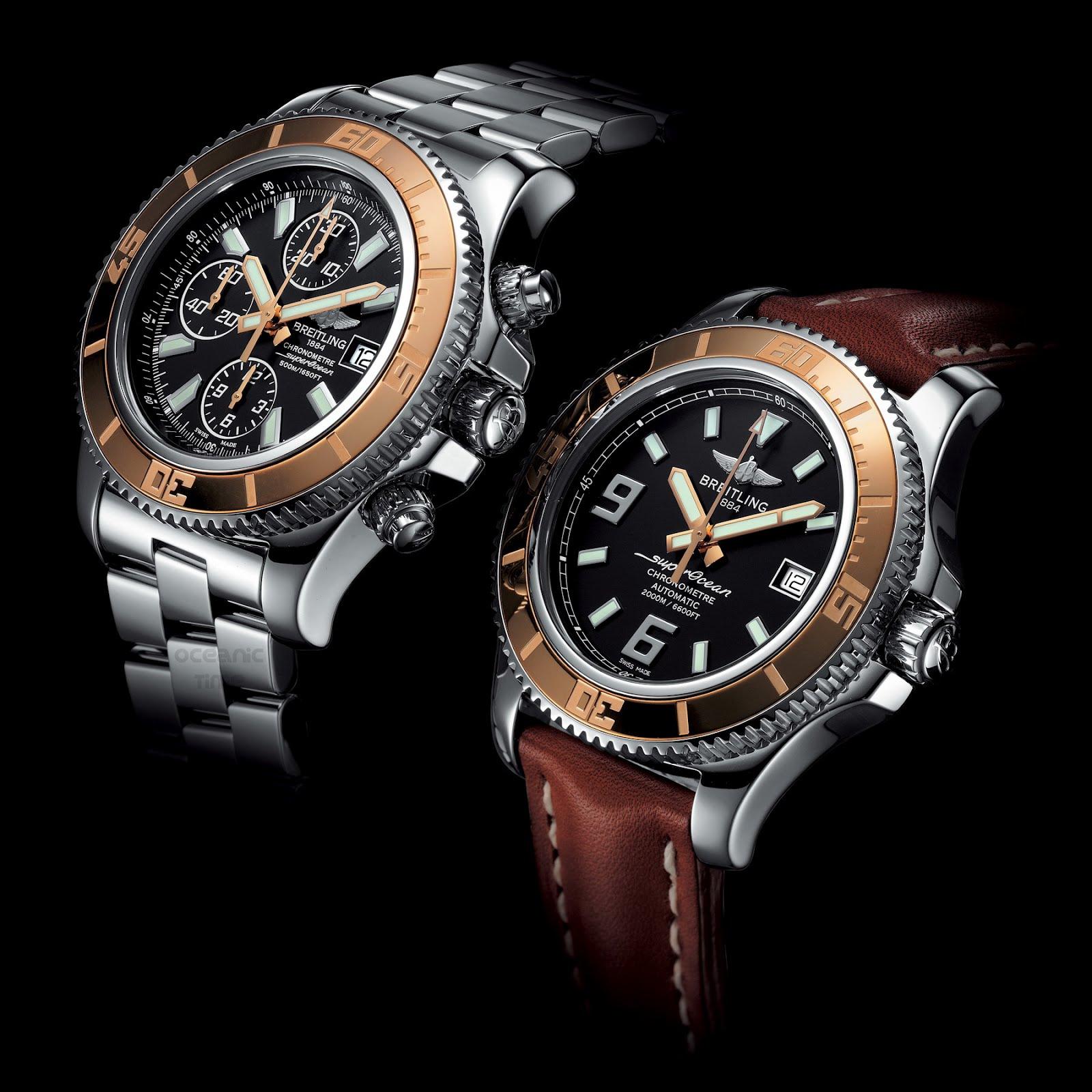 Oceanictime Breitling Superocean 44 Gold
